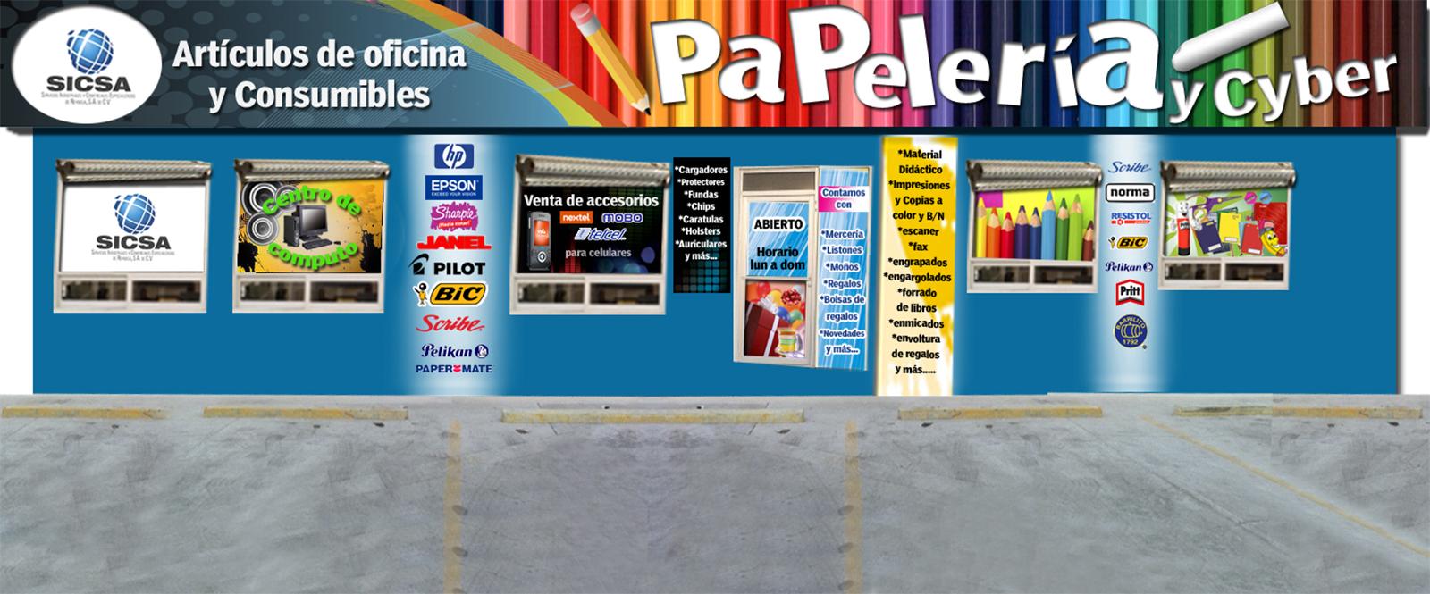 Servicios industriales y comerciales especializados de for Articulos de oficina y papeleria